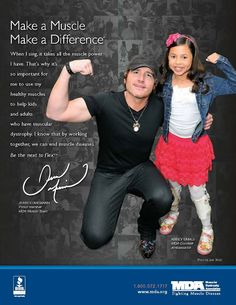Muscular Dystrophy Association  Make a Muscle, Make a Difference
