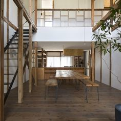 Renovation in Nekogahora is a minimal home located in Aichi, Japan, designed by Airhouse.