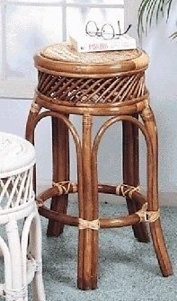 Special Offers - Classic Old Fashion New Wicker & Rattan Five Leg Stool (Pecan) - In stock & Free Shipping. You can save more money! Check It (June 17 2016 at 01:39AM) >> http://counterstoolsusa.net/classic-old-fashion-new-wicker-rattan-five-leg-stool-pecan/