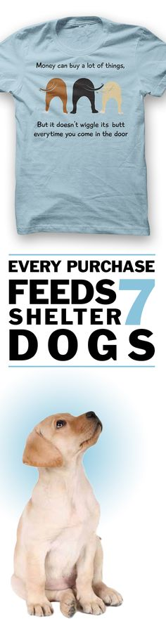 Would you wear this?  Every purchase feeds 7 shelter dogs!