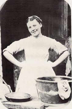 #servant Unknown British Maidservant