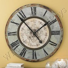 Roman numeral clock similar to the old train stations clocks in ...