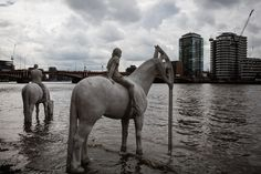Sculptures by Jason deCaires Taylor for Totally Thames Festival 2015