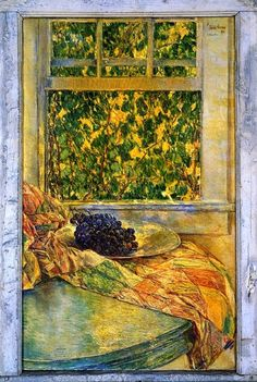 Frederick Childe Hassam, I love this, makes me want to step into this painting. It looks as if it is always summer.