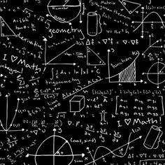 Math Lessons (Green Chalkboard) fabric by robyriker on Spoonflower - custom fabric Math Wallpaper, Wallpaper Animes, Apple Wallpaper, Snoopy Wallpaper, Cartoon Wallpaper, Meme Background, Picsart Background, Chalkboard Fabric, Math Quotes