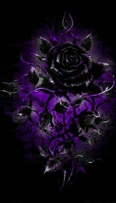 Black Roses Wallpaper, Gothic Wallpaper, Flower Phone Wallpaper, Dark Wallpaper, Galaxy Wallpaper, Beautiful Flowers Wallpapers, Beautiful Nature Wallpaper, Pretty Wallpapers, Beautiful Roses