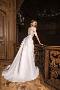 LITE by Dominiss - Natalia Exclusif - Wedding dresses montreal, prom dresses, evening dresses Wedding Dresses Montreal, European Wedding Dresses, Dream Wedding Dresses, Wedding Gowns, Wedding Garter, Wedding Card, Lace Wedding, W Dresses, Bridal Dresses