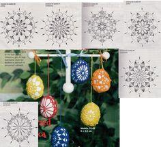 Image gallery – Page 372532200424753196 – Artofit Crochet Ornaments, Crochet Snowflakes, Beaded Ornaments, Handmade Ornaments, Christmas Ornaments, Easter Crochet Patterns, Granny Square Crochet Pattern, Easter Toys, Easter Crafts