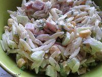 Idealna do grilla i na upalne wieczory. #Salatka z #makaronem posmakuje każdemu :)