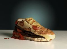 Nike burger Air Max 90 by Olle Hemmendorff  - too cute to eat.