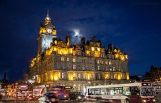 The Balmoral is a luxury five-star hotel & landmark in Edinburgh, Scotland, known as the North British Hotel until the late 1980s