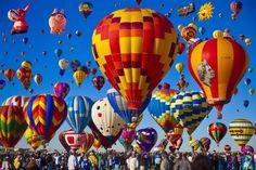 【アメリカ】世界最大!700以上の気球が一斉に空を舞う!バルーンフェス行こう♡ - トリッピース