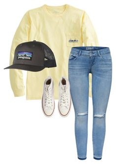 """""""💕🎀"""" by a-m-l-d ❤ liked on Polyvore featuring Converse and Patagonia"""