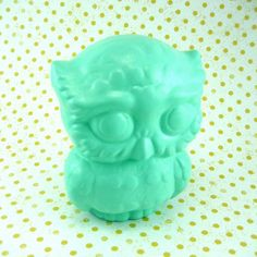 Items similar to Frilly retro big eyed OWL on Etsy My Favorite Color, My Favorite Things, Ready For Love, Vintage Owl, Mold Making, Deer, Clay, Kawaii, Birds