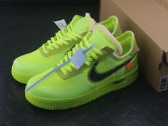 nike air off white fluo