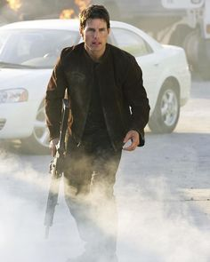 Tom Cruise in Mission: Impossible III Action Film, Action Movies, Tom Cruise, Mission Impossible 3, Red Dress Day, Dubai, Rebecca Ferguson, Cw Series, Cruise Outfits