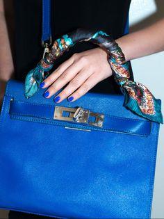 Lexicon of Style Scarves- Iris Design