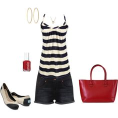 Summer Nautical, created by ericajb on Polyvore