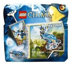 LEGO Legends of Chima : Eglor Nest Dive Building Toy 97 Pieces #70105 Figure + #LEGO