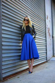 Trending Tuesday: Full Midi Skirt