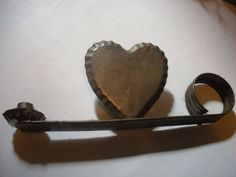 Tin+Heart+Candle+Holder+#Unbranded