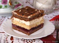 Ciasto Elegantka Polish Recipes, Polish Food, Tiramisu, Cheesecake, Sweets, Chocolate, Baking, Ethnic Recipes, Cook