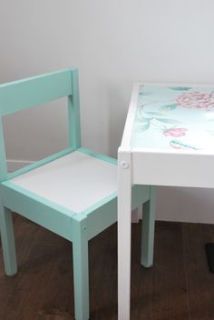 IKEA hack: latt table and chairs - the sweetest digs