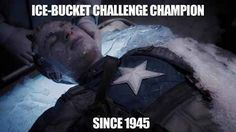 The real winner of the Ice Bucket Challenge.