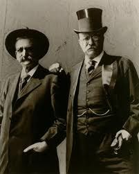 Seth Bullock of Deadwood, South Dakota, and Pres Teddy Roosevelt. For more photos and travel blog visit: www.robinballdesignsblog.com
