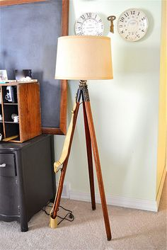 Tripod lamp tutorial