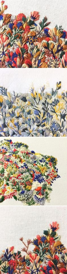 Embroidery by Slow Stitch Sophie / On the Blog!