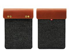 Gary & Ghost iPad Mini / Samsung Note 8.0 / Google Nexus 7 Wool Felt & Leather Case Sleeve Pouch with Stand Up Feature - Black Wool Felt with Brown Leather D-Park http://www.amazon.com/dp/B00EMZ0YRS/ref=cm_sw_r_pi_dp_AYQNtb1XZA8B8D44