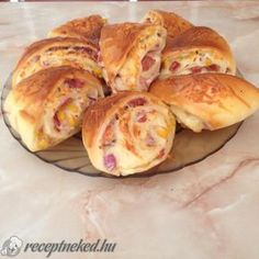 Érdekel a receptje? Croatian Recipes, Swedish Recipes, Hungarian Recipes, My Recipes, Cooking Recipes, Eastern European Recipes, Savory Pastry, Salty Snacks, Food Humor