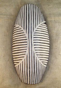African Shields - Zulu Shield 4 - Front - Click for a more detailed view of this African Shield.