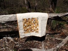 Toffee Shards quilt by Missy Mac Creations