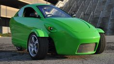 "$6800 three wheel, ""car,"" with 65MPG to be manufactured in Louisianna...American made affordable, ""green,"" vehicle...groovy!"