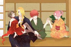NARUTO, Deidara, Haruno Sakura, Kurotsuchi, Sasori, 1200x800 Wallpaper