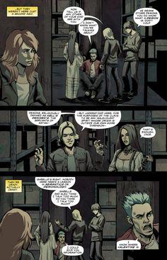 CoB, graphic novel page,