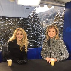 Watch Shak chatting #FacetoFace with @ariannahuff for @CNBC at #wef17 in Davos, at shakira.com ShakHQ