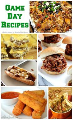 Sports Party Food - Game Day #Recipes