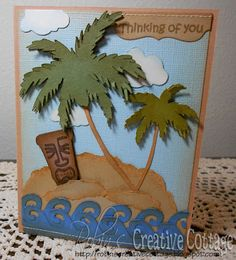 Life Is a Beach for the images, the cloud image is from the Everyday Paper Dolls - VIDEO