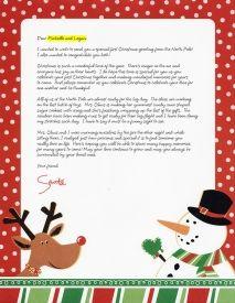 Santa Letter - Letter for Newlyweds