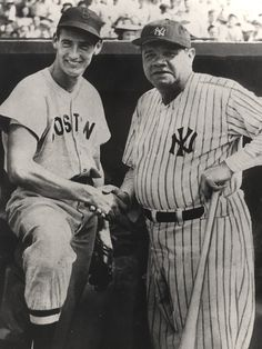 LEGENDS Ted Williams and Babe Ruth