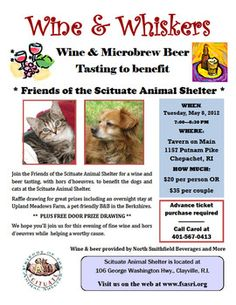 Friends of the Scituate Animal Shelter organize Wine & Whiskers fundraiser