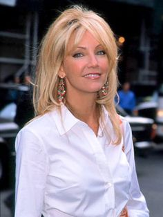 Celebrity Moms: Heather Locklear. Sell us your gently used designer maternity clothes: MotherhoodCloset.com #MaternityConsignment