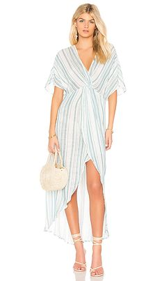 d5c73bc3f22 Show Me Your Mumu Get Twisted Maxi Dress in Point Dume Stripe