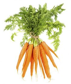 Carrots make a great smoothie ingredient—they are a wonderful source of fiber and vitamin A. Vitamin A is important not only for healthy skin and eyes, but also for the immune system. They're a good smoothie add-in for someone who doesn't like their drink too sweet.