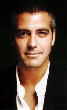 George Clooney- one of the most good looking men George Clooney, Hot Men, Hot Guys, Pretty People, Beautiful People, Hommes Sexy, Tom Hardy, Good Looking Men, Famous Faces