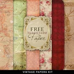 Far Far Hill: Freebies Old Style Papers Kit