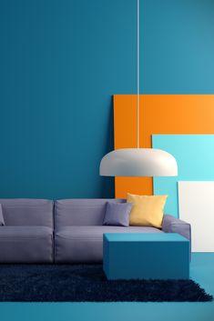 Interior Design Renderings, Shop Interior Design, Interior Design Inspiration, English Living Rooms, Living Colors, Room Wall Colors, Pastel House, Bauhaus Design, Interior Concept